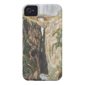 Natural Bridge, Valle d'Icononzo (colour litho) iPhone 4 Case-Mate Case
