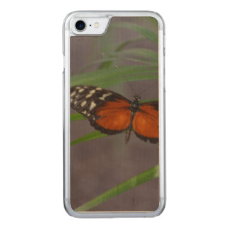 Natural Butterfly Carved iPhone 7 Case