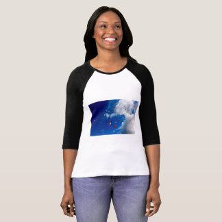 Natural clear blue sky t-shirt