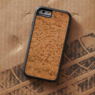 Natural Cork Look Wood Grain Tough Xtreme iPhone 6 Case