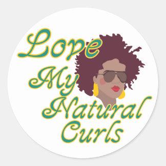 Natural Curls Sticker