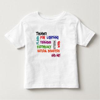 Natural Disasters Toddler T-Shirt