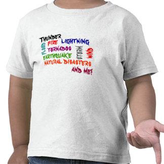 Natural Disasters Shirt