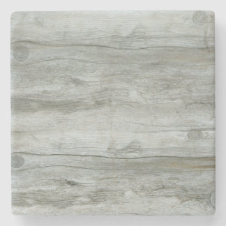 Natural Driftwood Background Texture Stone Coaster