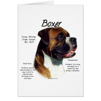 Natural Ear Boxer Meet the Breed Card