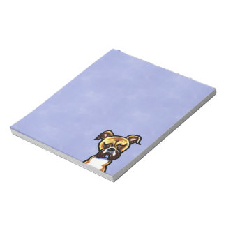 Natural Ears Boxer Face Notepad