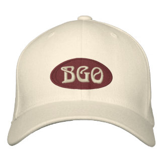 Natural Flexfit Cap Embroidered Hats