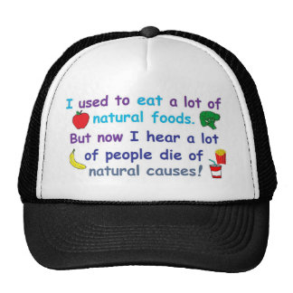 natural foods trucker hat
