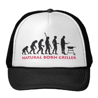 Natural fount Griller 2C Trucker Hats