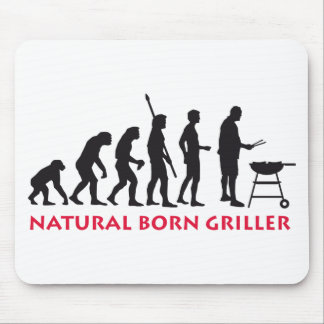 Natural fount Griller 2C Mouse Pads