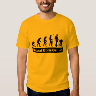 natural fount more griller t shirts