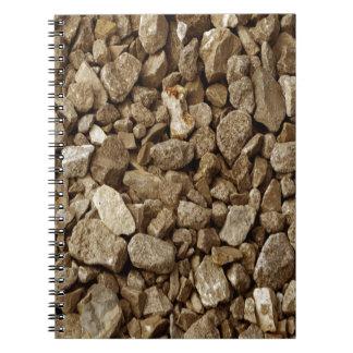 Natural Granite Rock Notebook