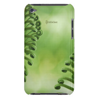Natural, Green Curly Leaves iPod case iPod Case-Mate Case