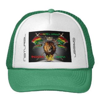 NATURAL GREEN HATS