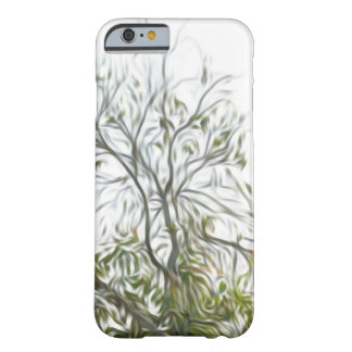 Natural green tree pattern iphone case