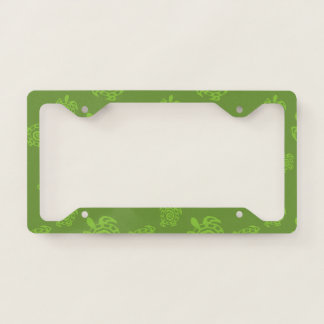 Natural Green Turtle Licence Plate Frame
