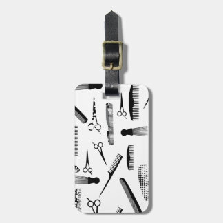 Natural Hair Fashion Luggage Tag