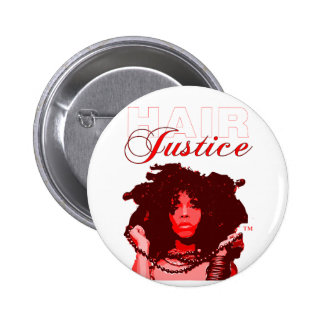 Natural Hair:HairJustice 6 Cm Round Badge