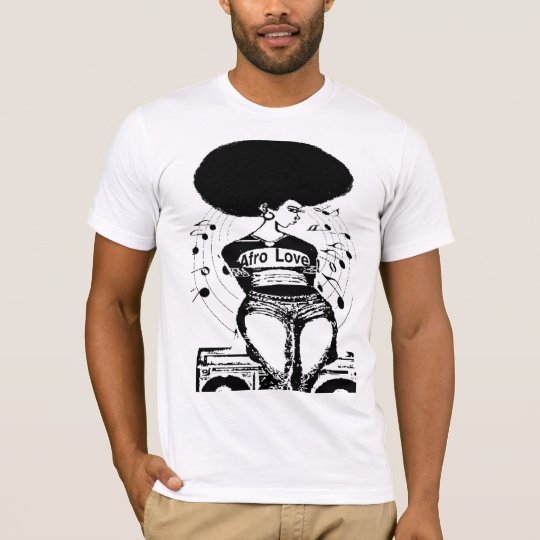 Natural Hair Revolution t shirt Afro Love