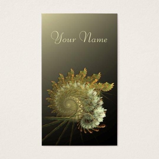 Natural Harvest Fractal Business Card