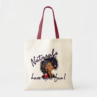 """Natural Have More Fun"" Bag"