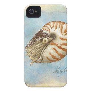 Natural History Nautilus iPhone 4 Cover