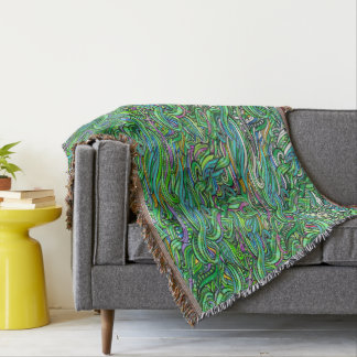 Natural Impressions, Throw Blanket