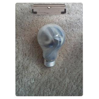 Natural lightbulb clipboard