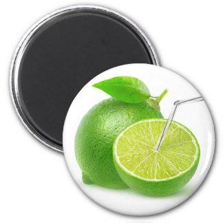 Natural lime juice magnet