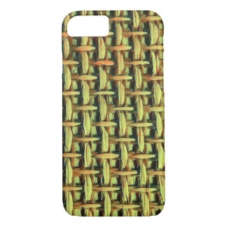 Natural look basket weave iPhone 8/7 case