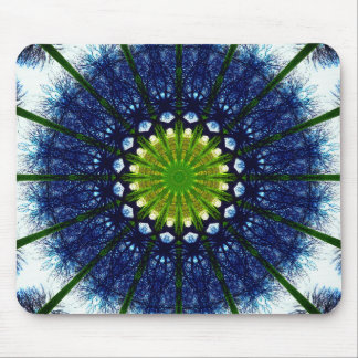 Natural Mandala Art Mouse Mat