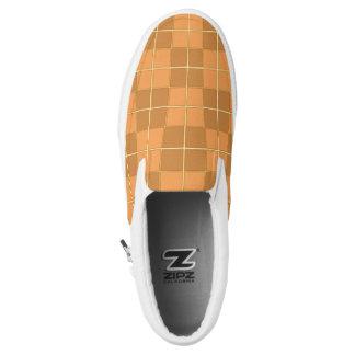 Natural Mosaic tile pattern design Slip-On Shoes