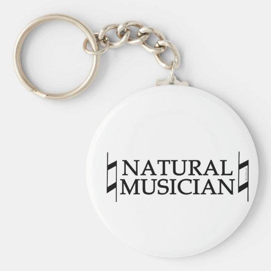 Natural Musician Key Ring