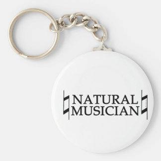 Natural Musician Keychains