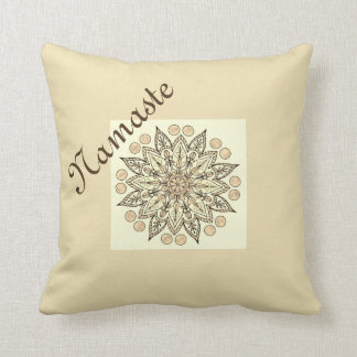 Natural Namaste Mandala Cushion