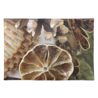 natural objects placemat