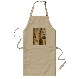 Natural Organic Long Apron