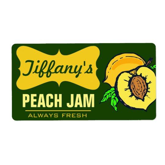 Natural Organic   Peach Jam   Handmade Jams