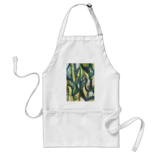 Natural Park divided by Thick Lines Adult Apron