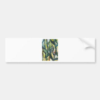 Natural Park divided by Thick Lines Bumper Sticker