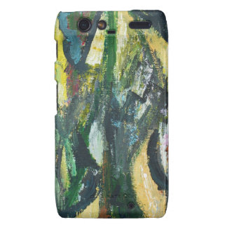 Natural Park divided by Thick Lines Motorola Droid RAZR Cover