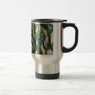 Natural Park divided by Thick Lines Coffee Mug