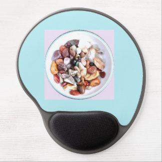 Natural Precious Stone Bowl Photo Gel Mousepad Gel Mouse Mat