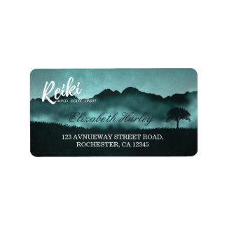 Natural Reiki Master and Yoga Mediation instructor Address Label