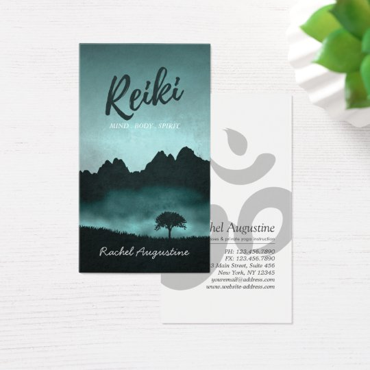 Natural Reiki Master and Yoga Mediation instructor Business