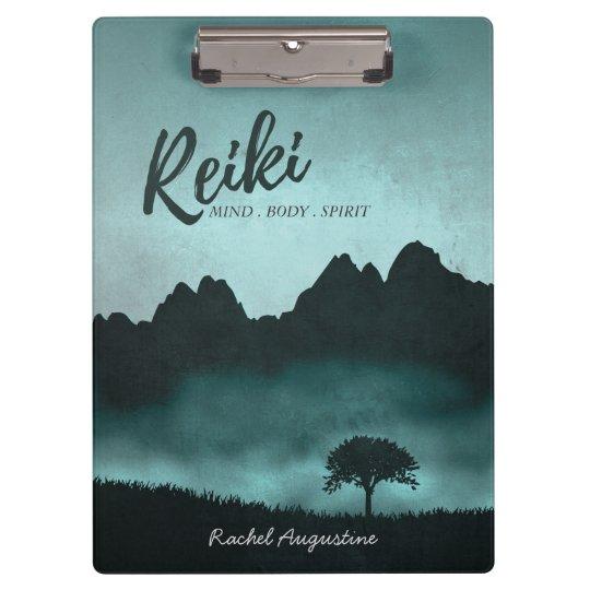 Natural Reiki Master and Yoga Mediation instructor Clipboard