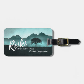 Natural Reiki Master and Yoga Mediation instructor Luggage Tag