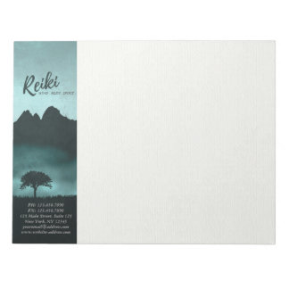 Natural Reiki Master and Yoga Mediation instructor Notepad