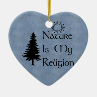 Natural Religion Christmas Ornament