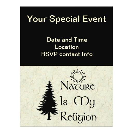 Natural Religion Flyer
